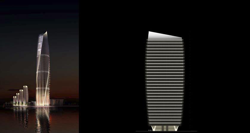 Karachi Port Trust Tower & LDPi Project - Karachi Port Trust Tower Lighting | Lighting Design ...