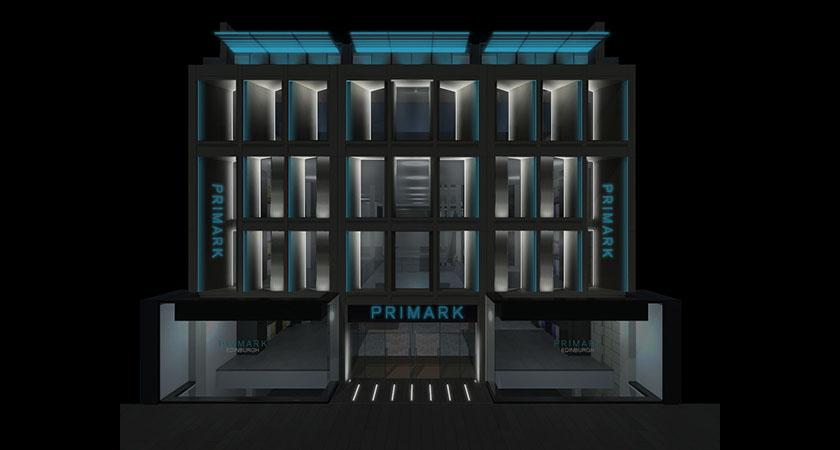 ldpi project primark branding lighting design partnership international. Black Bedroom Furniture Sets. Home Design Ideas
