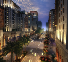 King Abdul Aziz Road Masterplan