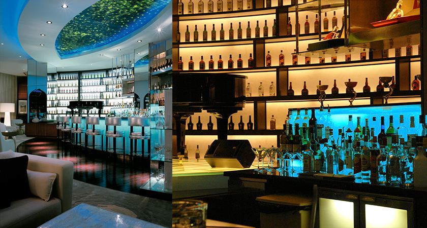 Al Bandar Piano Bar Lighting Design